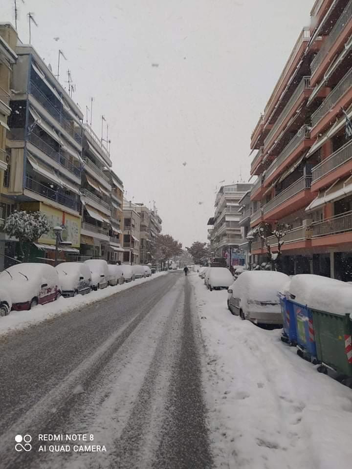 Αποκλεισμένος λόγω Χιονιά στον Δήμο Βέροιας εν έτει 2021!